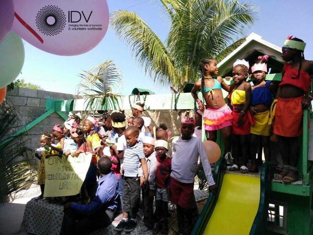 The carnival party at HTDC orphanage