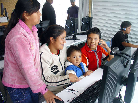 A Family at One of Our Chimalhuacán Centers
