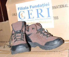 Orphan Boy's New Boots