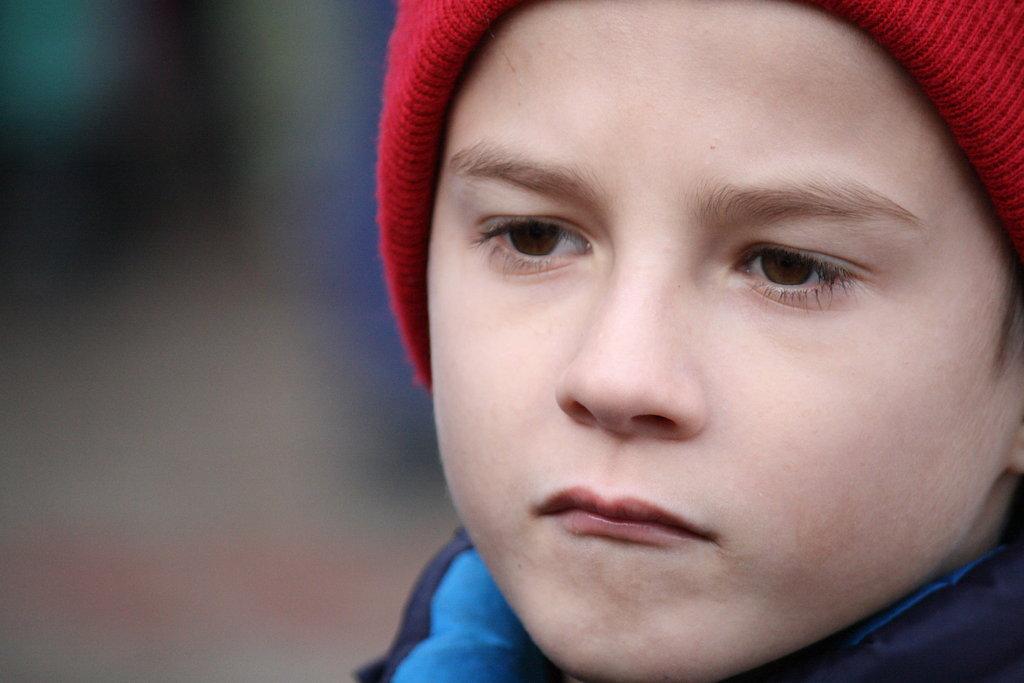 Moldovan boy in hat