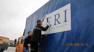 CERI Truck Delivers Winter Boots to Moldova