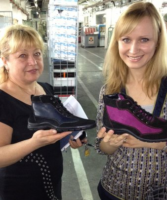 Boots for youth - factory worker & CERI Nat'l Dir