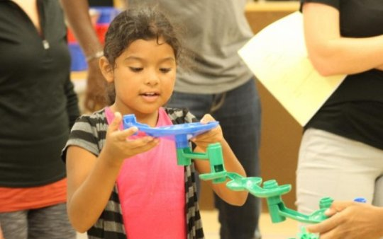 Our classrooms foster kids' problem solving skills