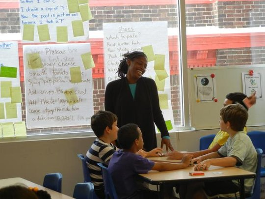 Ms. Coleman engages students through inquiry