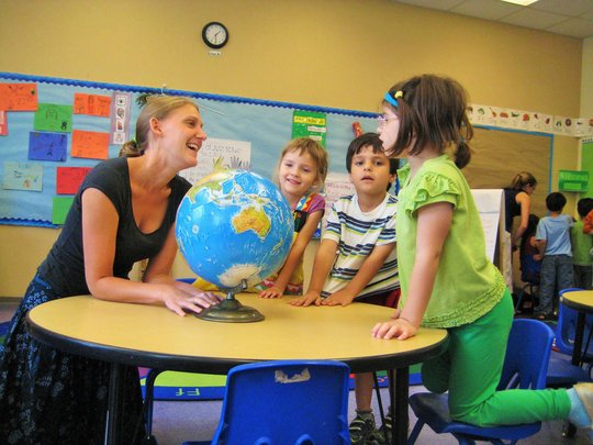 Students and Teachers Learning Together