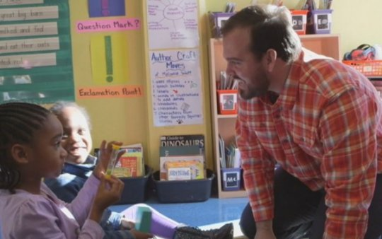 Teacher and Student Show Mutual Respect
