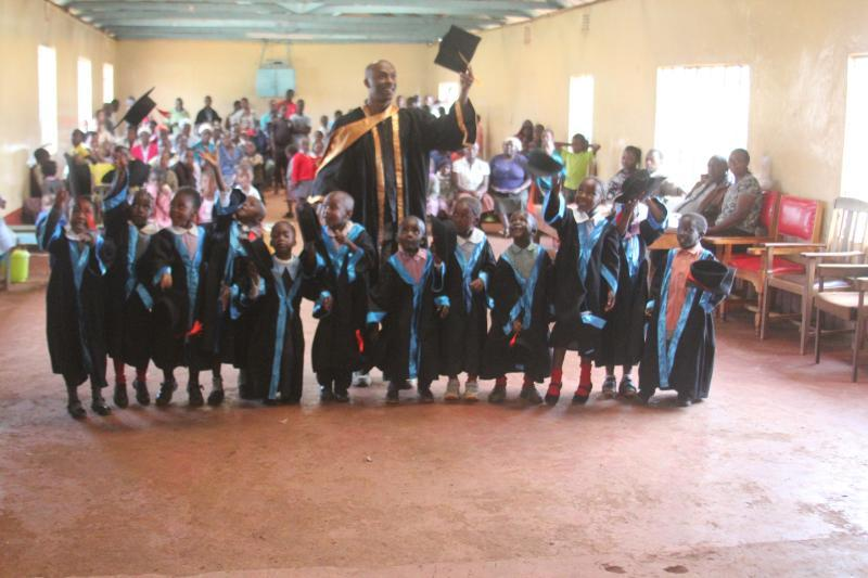 Celebrating our graduation!