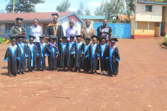 Graduates and supporters