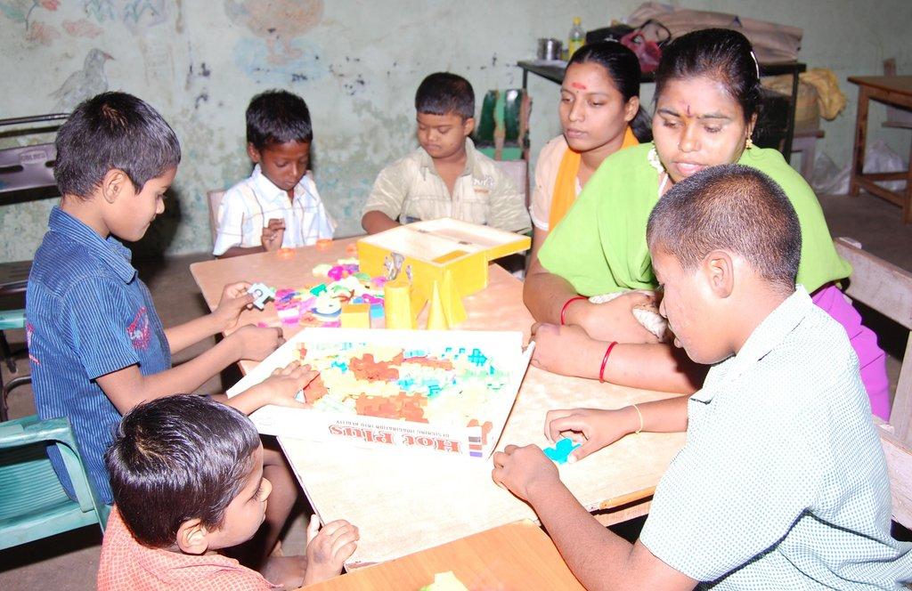 Reception Home for 200 MentallyChallenged Children