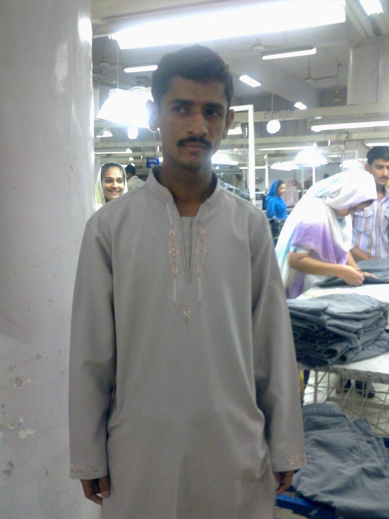 Artistic Milliners employee - Abdul Rasheed