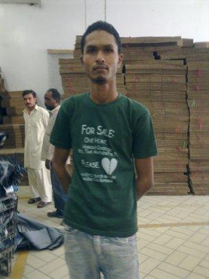 Artistic Milliners employee - Mazhar Ali