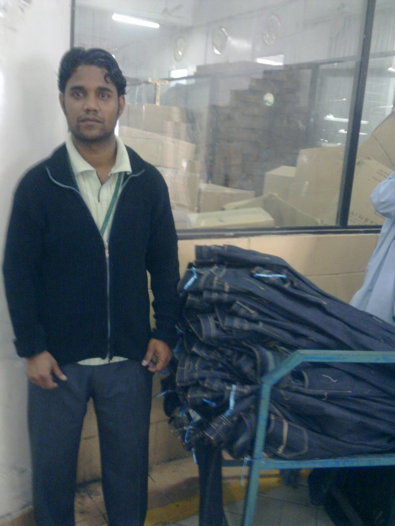 Artistic Milliners employee - Khurram Shahzad