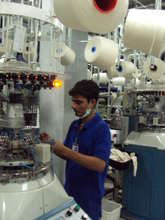 Worker at Factory