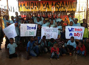 Children from Tanzania 'Demand a Day!'