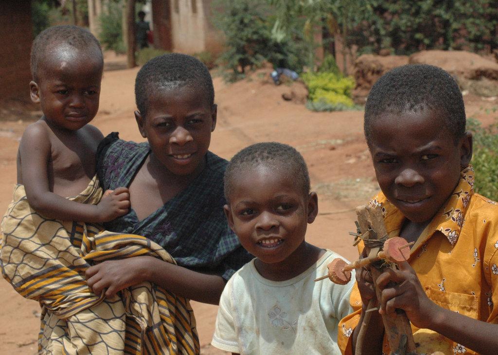 Street children, Tanzania