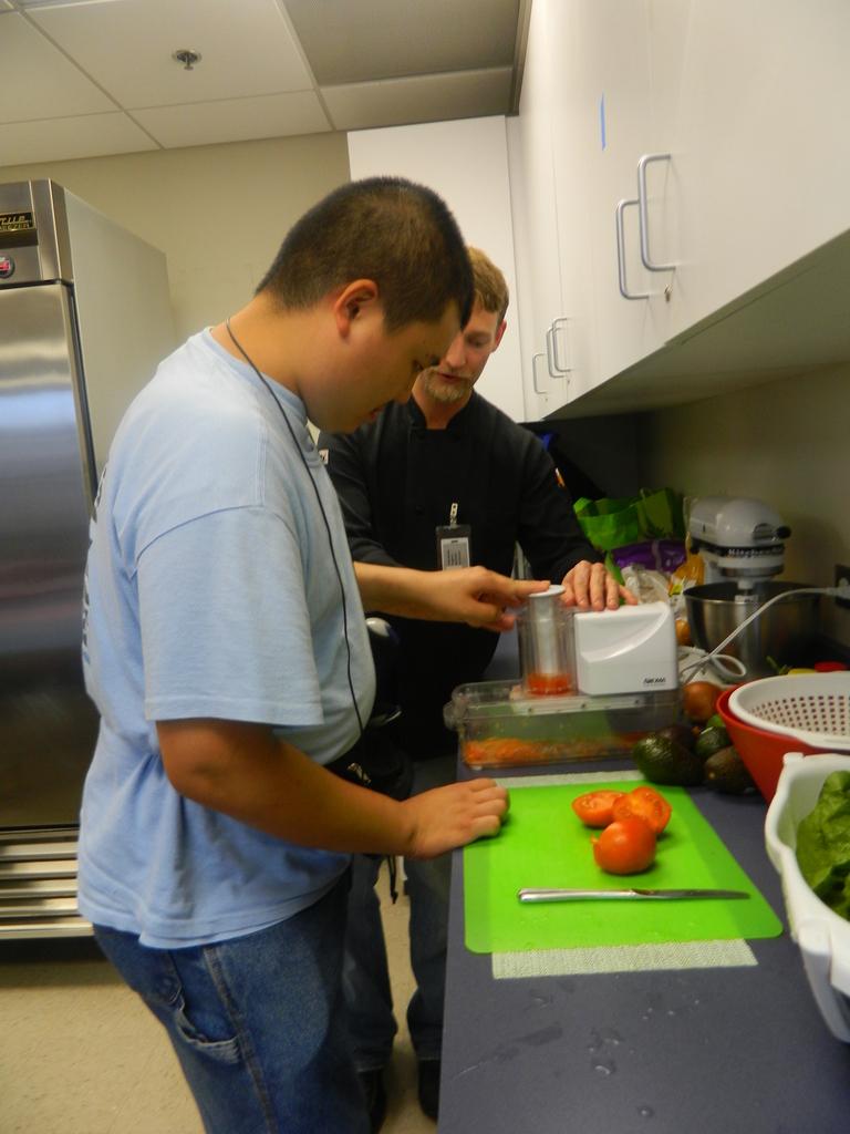 Making salsa #2!
