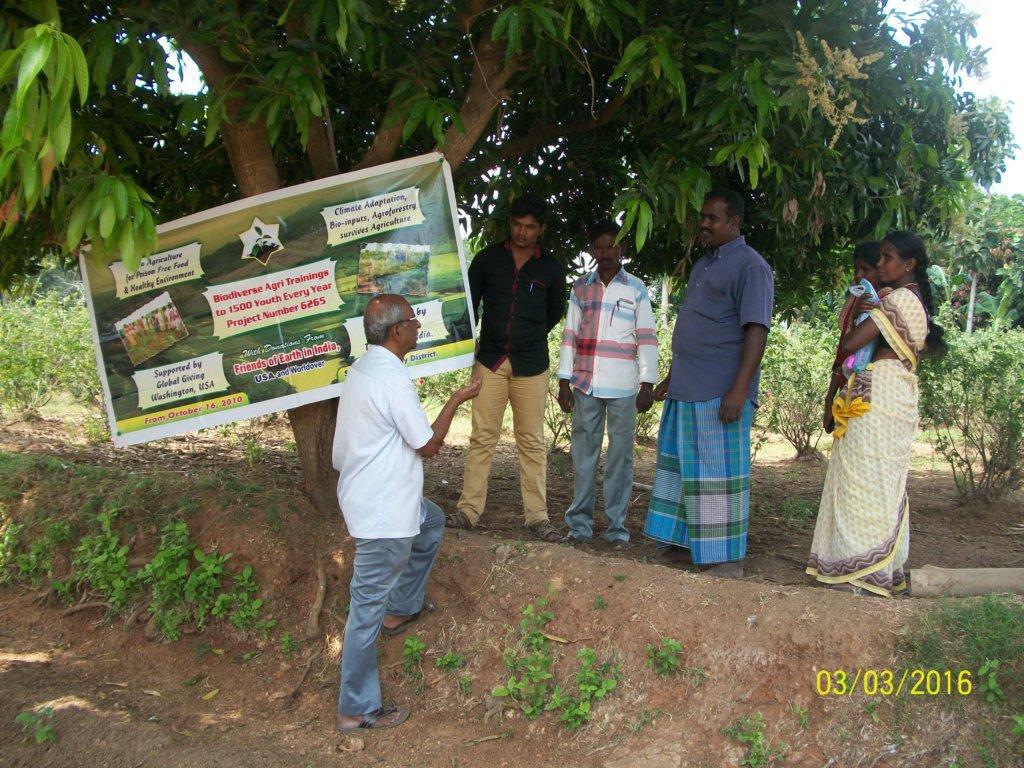 Field visit of Sesuraj farmer