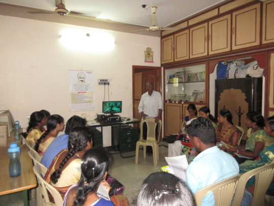 Students from Holy Cross College given agri class