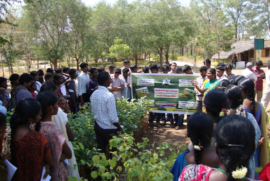 Simple methods in Agri illustrated to Youth