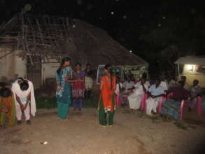 Cultural prog during exposures in Thazhuthalapatti