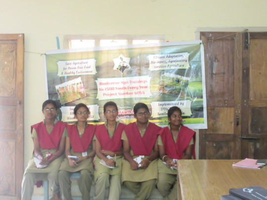 Technical classes given for Youth in Agriculture