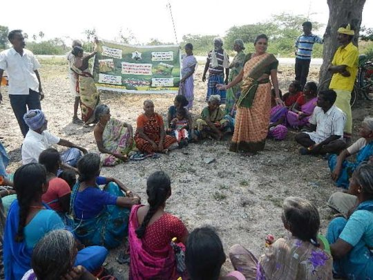 PRA meetings in villages to appeal for Agriculture