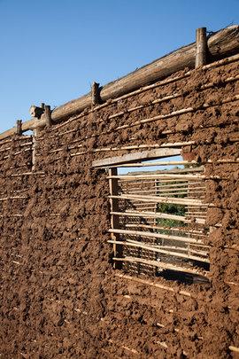 Community Center Mud Walls
