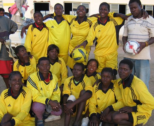 Empowering 500 women through sport in Zimbabwe
