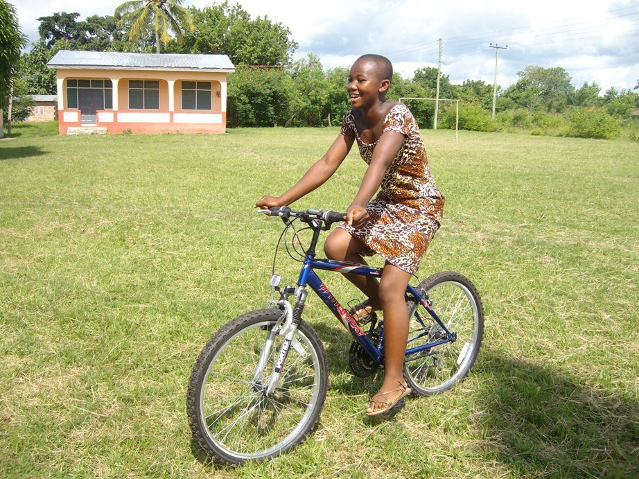provide bicycles for 35 school children in ghana