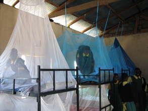 Kokwa primary pupils fix bed nets