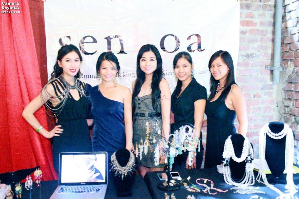 Senhoa team at an awareness event in LA