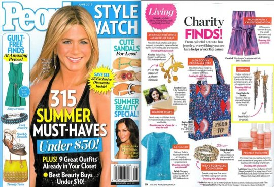 Senhoa Jewelry on People Style Watch Magazine!