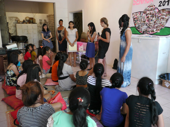 Empower Girls Rescued from Sex Slavery in Cambodia