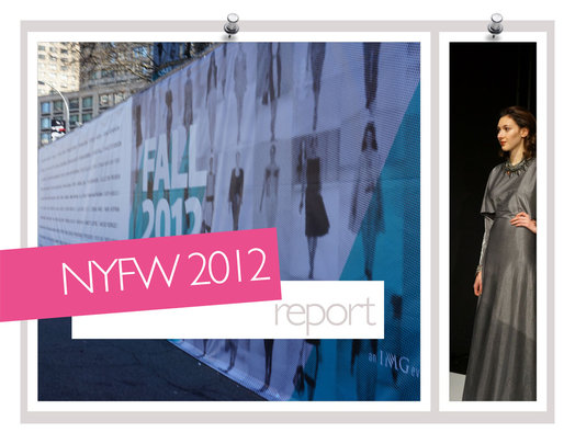Senhoa jewelry featured at NY Fashion Week 2012