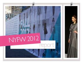 Senhoa jewelry featured at NY Fashion Week 2012
