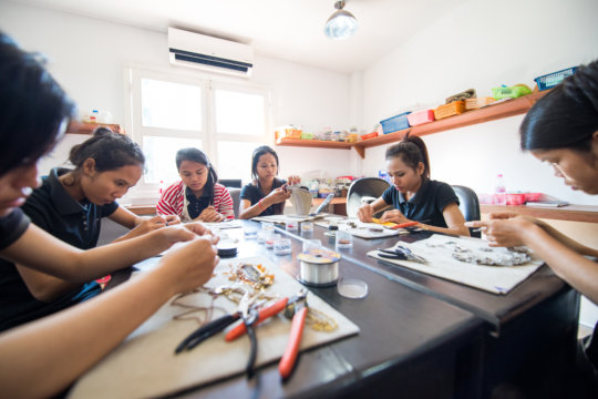 Our artisans thriving in their jewelry career