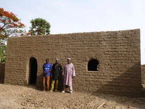 Village house in Dandougou, Dioila region