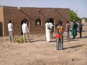 Village classroom, Dankoumala, Segou region