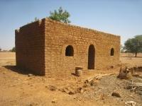 A typical single-vault village house