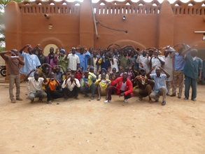 Participants at AVN masons' congress, Segou