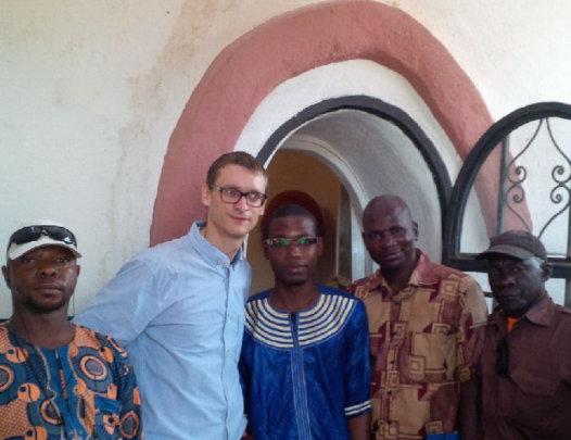 AVN-Mali staff at LAC Inauguration, Bamako