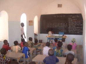 A NV school classroom