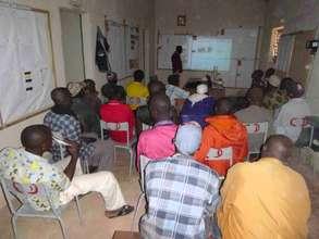 Apprentices at Dioila workshop, Nov 18-24