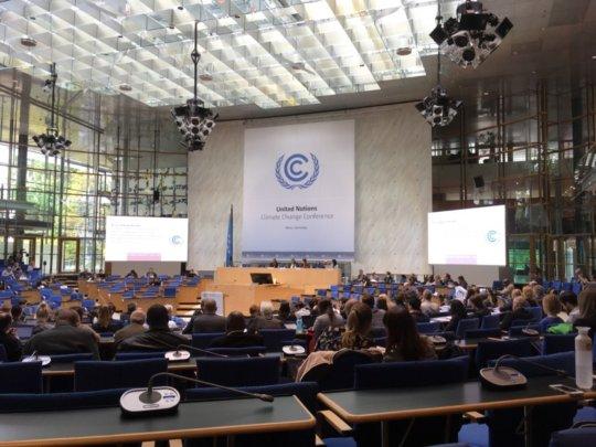 UN Climate Change meeting, Bonn, Germany