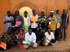 NV master masons at Segou workshop, Nov 4-10
