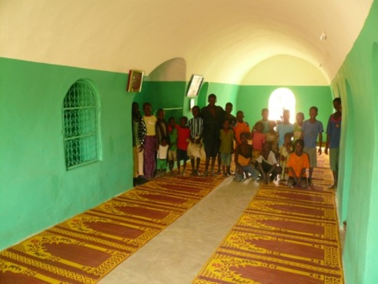 A VN village mosque, Dendjola