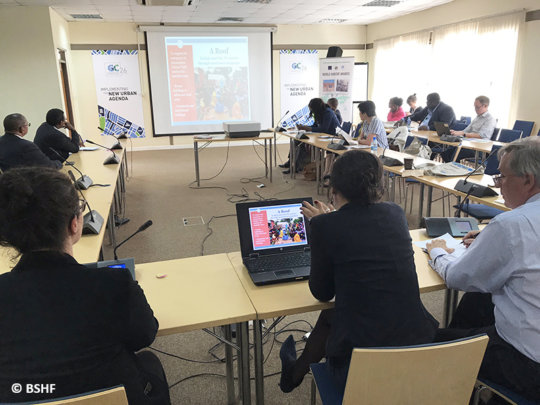AVN seminar at UN-Habitat, Nairobi