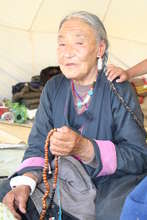 Tsering Palzon, 80 year old flood survivor