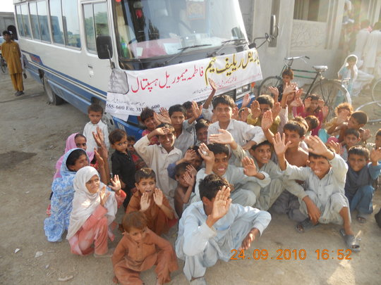 Celebrating Eid with Flood Affected in Pakistan