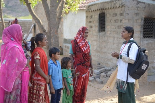 Educate Girls spoke to Suhani's family & community